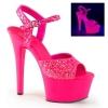 ASPIRE - 609G Neon Hot Pink Glitter